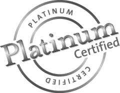 Platinum Certified Seal